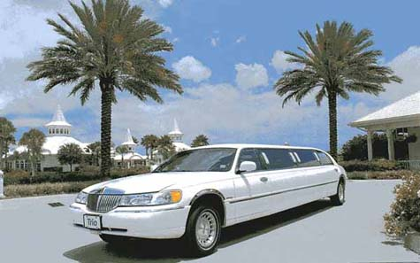 trio's exclusive limo